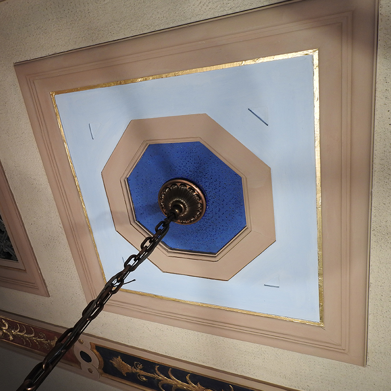 Court Room Decorative Plaster Ceilings