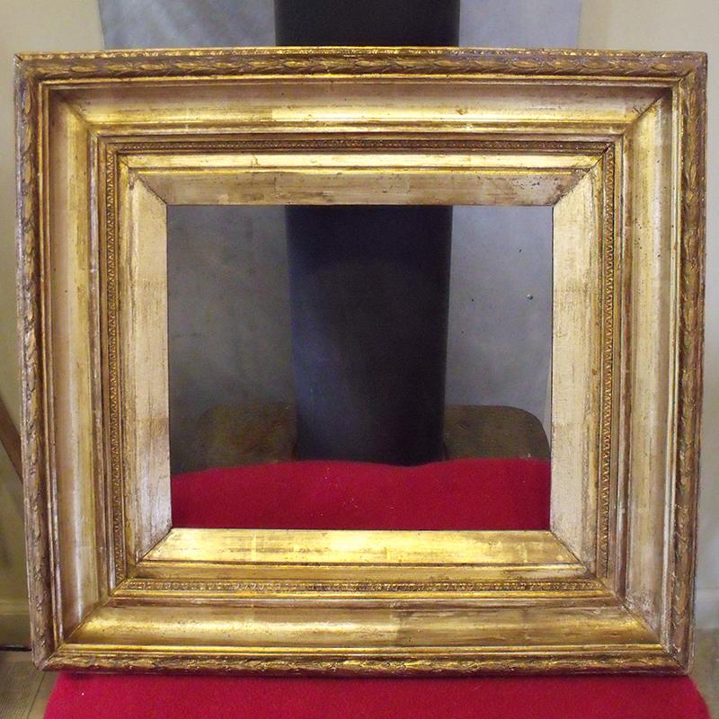 gold gilded frame