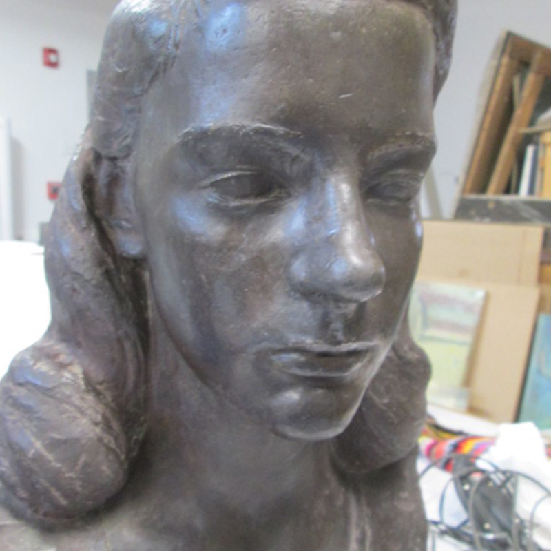 Sculpture of Young Girl