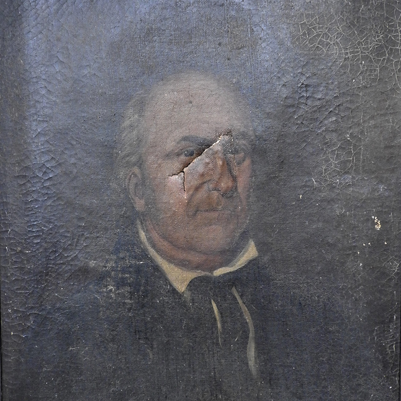 18th Century Portrait of Israel Lee