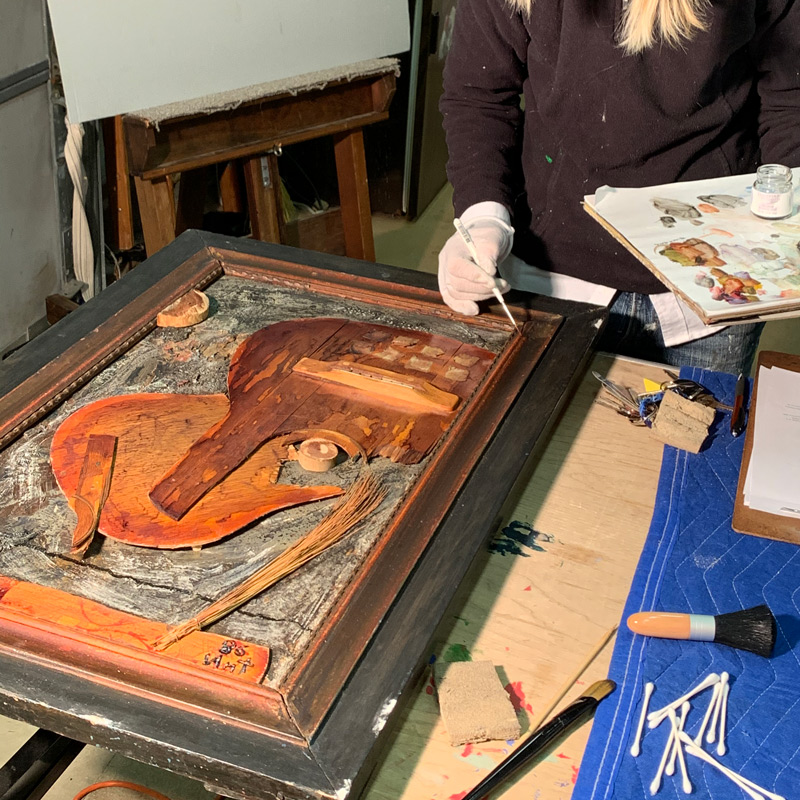 wood object conservation