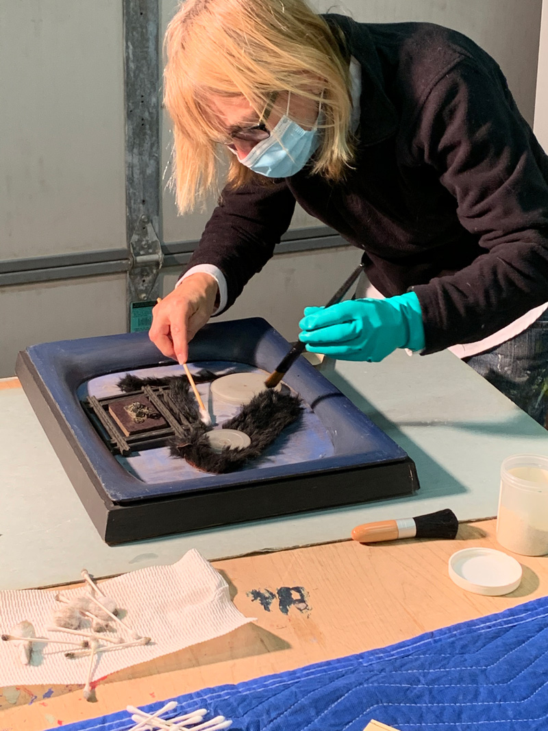 multimedia object conservation
